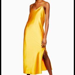 Mustard Yellow Topshop Slip